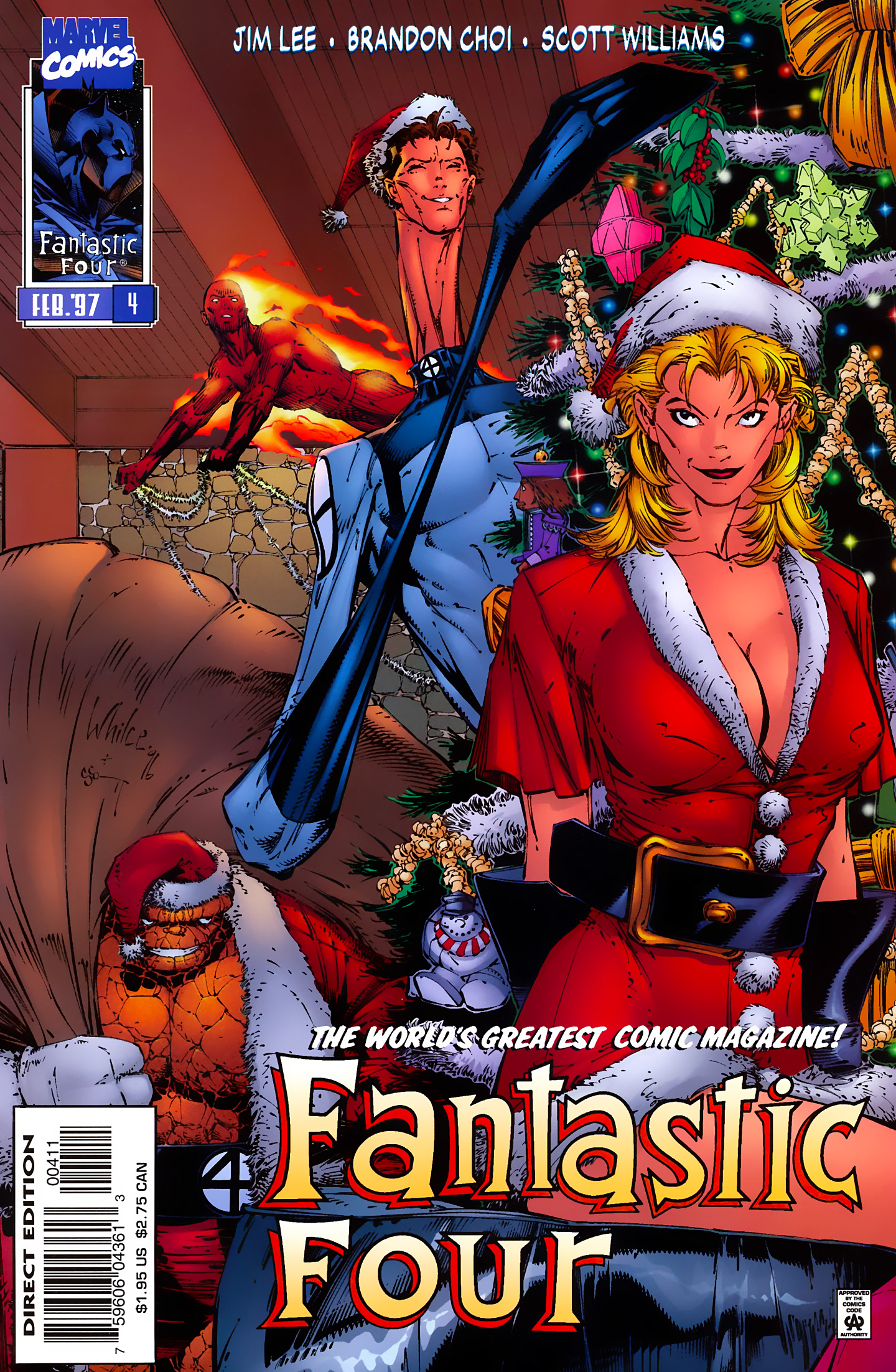 Fantastic Four (1996) 4 Page 2