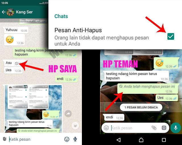Cara Agar Chat Whatsapp Tidak Bisa Dihapus Oleh Pengirim