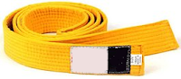 Cinturon Amarillo Karate