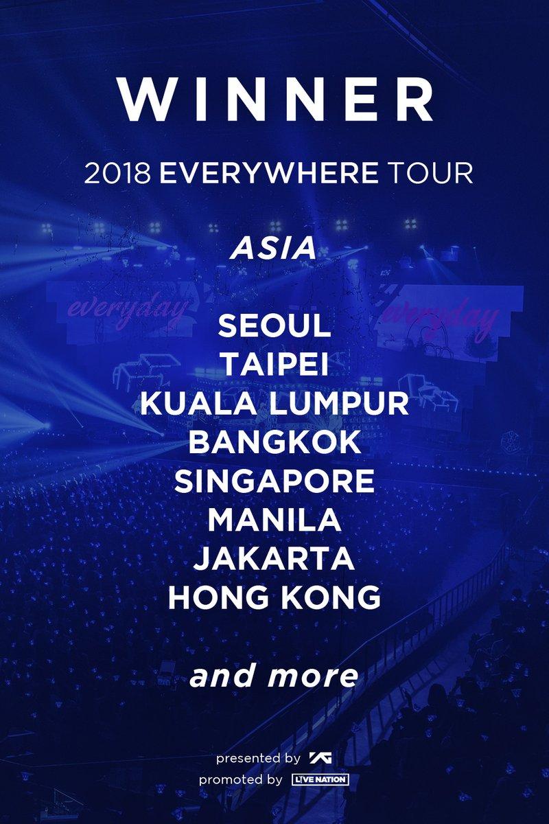 Winner 2018 Everywhere Tour in Manila