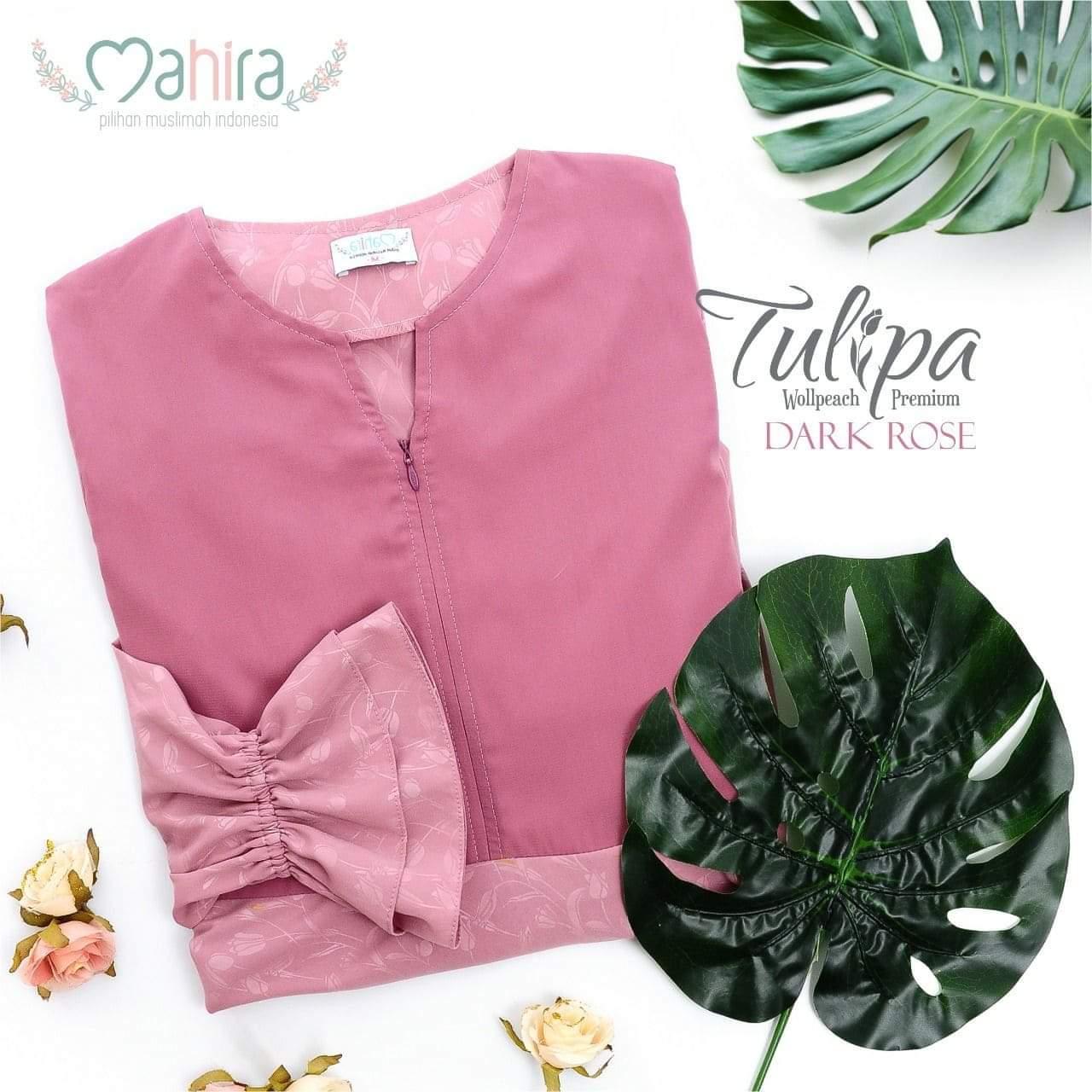 Mahira Tulipa Wollpeach Premium Dark Rose