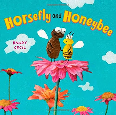 Horsefly and Honeybee, by Randy Cecil, part of children's book review list about bees
