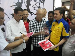 Sofian Tjandra Bersama Bapak Ir. Jokowi