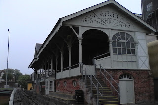 The Grandstand at Wellesley Road, Great Yarmouth Town FC