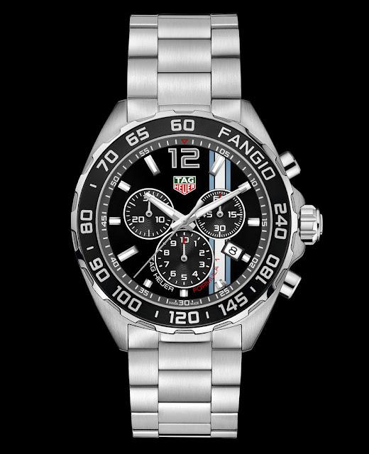 TAG Heuer lanza en Argentina el nuevo reloj Fangio de Edición Limitada #TAGHeuerIsMotoracing