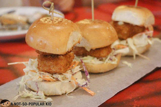 Fish-A-Holic Sliders of Krazy Garlik