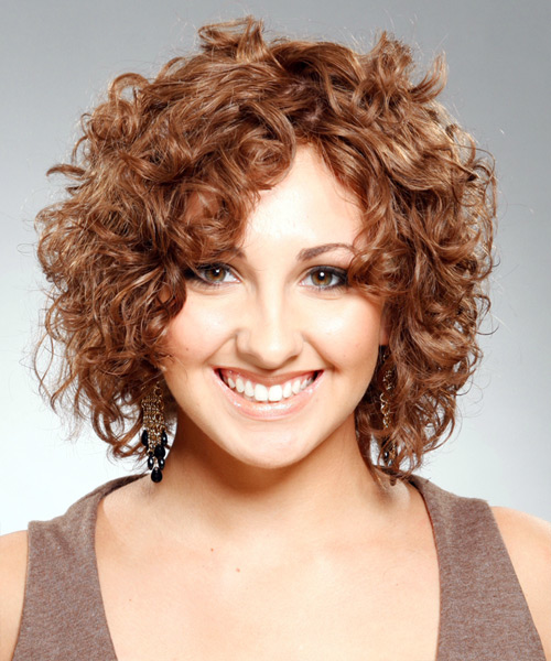 Super Latest short curly hairstyles For Girls
