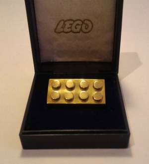 World's most expensive LEGO.