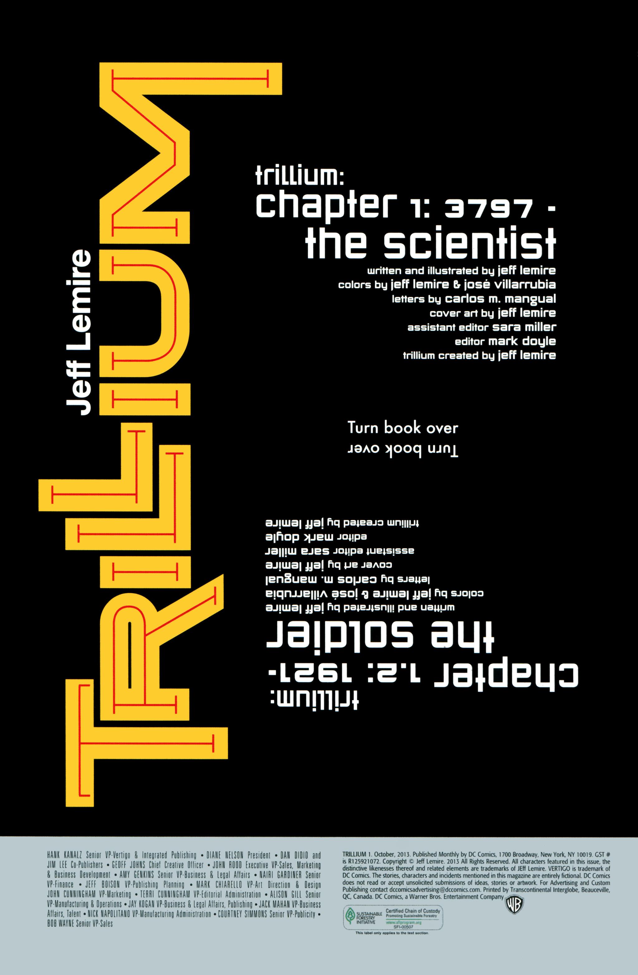 Read online Trillium comic -  Issue #1 - 21