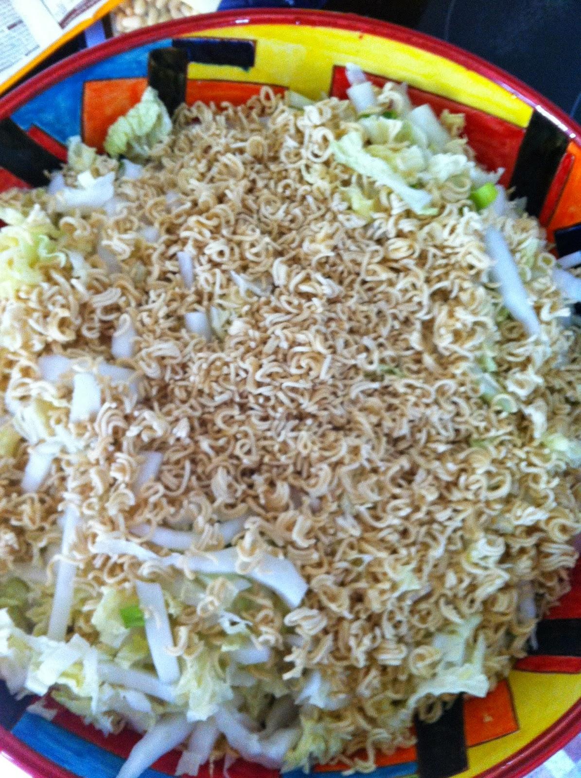 Rezeptblock Asiatischer Nudelsalat Yamyam Salat