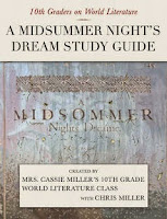 a midsummer night's dream study guide iTunes iPad edtech @edtechchris
