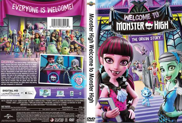 Capa Monster High Torrent 720p 1080p 4k Dublado Baixar