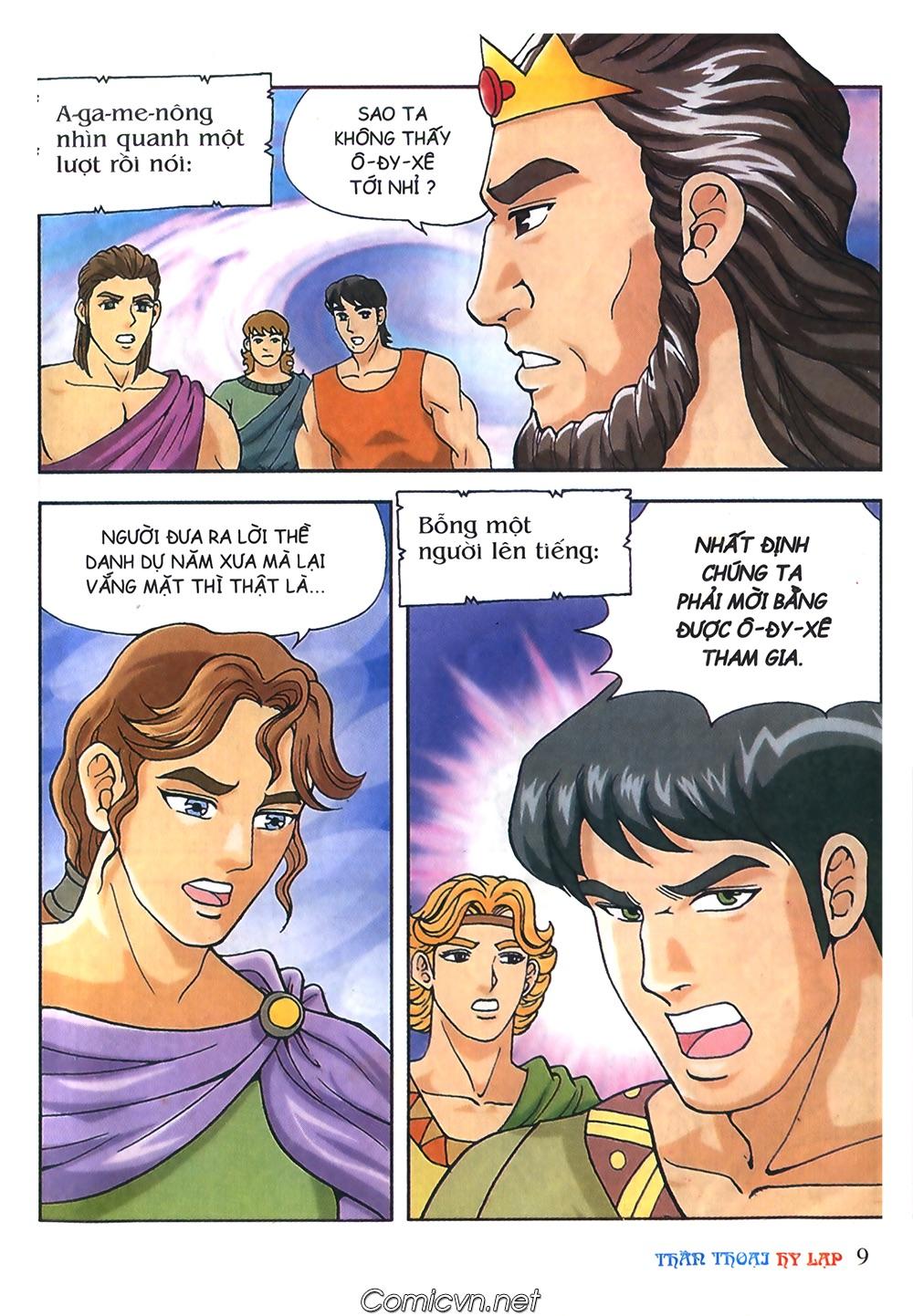 Thần Thoại Hy Lạp Màu - Chapter 52: Vì danh dự Hy Lạp - Pic 8