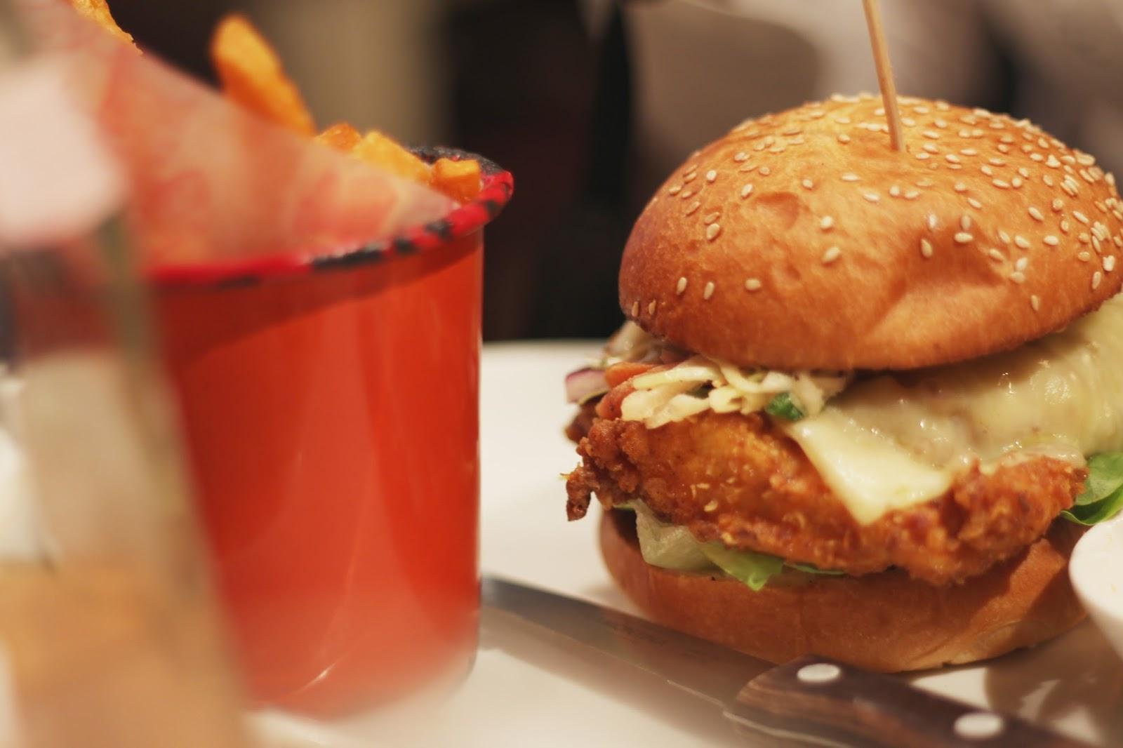 bills london brewer street restaurant review buttermilk chicken burger