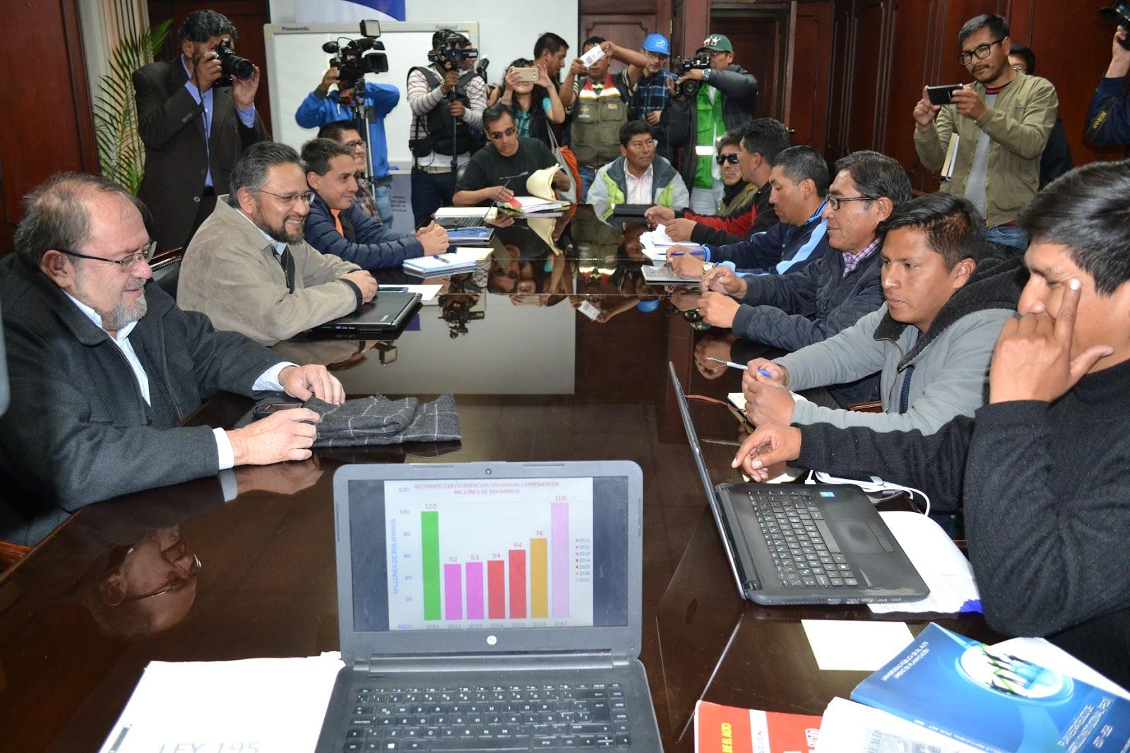 Se esperaba una solución desde la mesa de diálogo entre el régimen y la universidad alteña / ABI