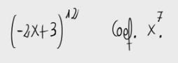 9. Coeficientes en binomio de Newton