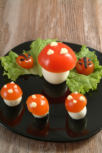 Salata de padure pentru copii