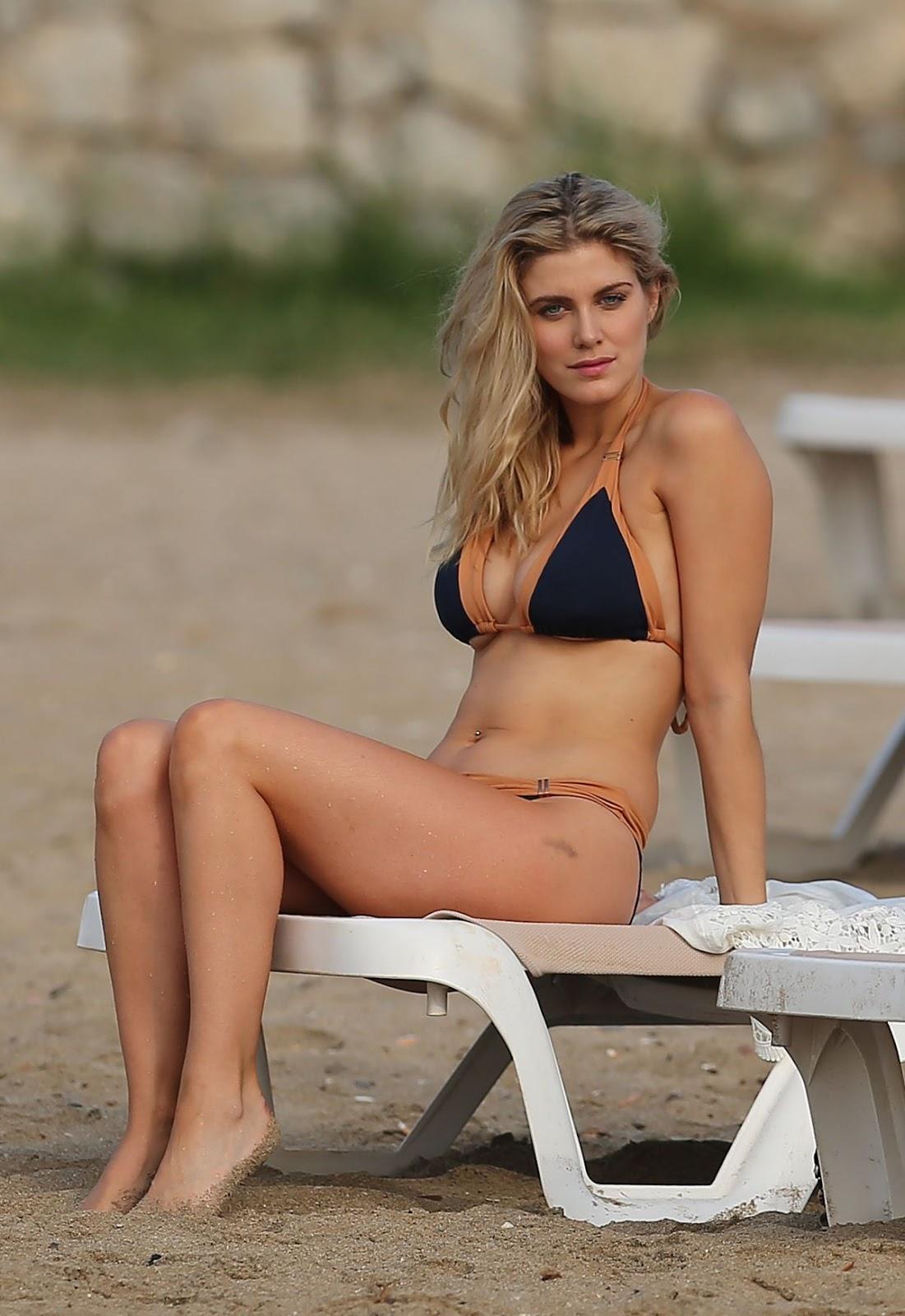 Ashley James in bikini