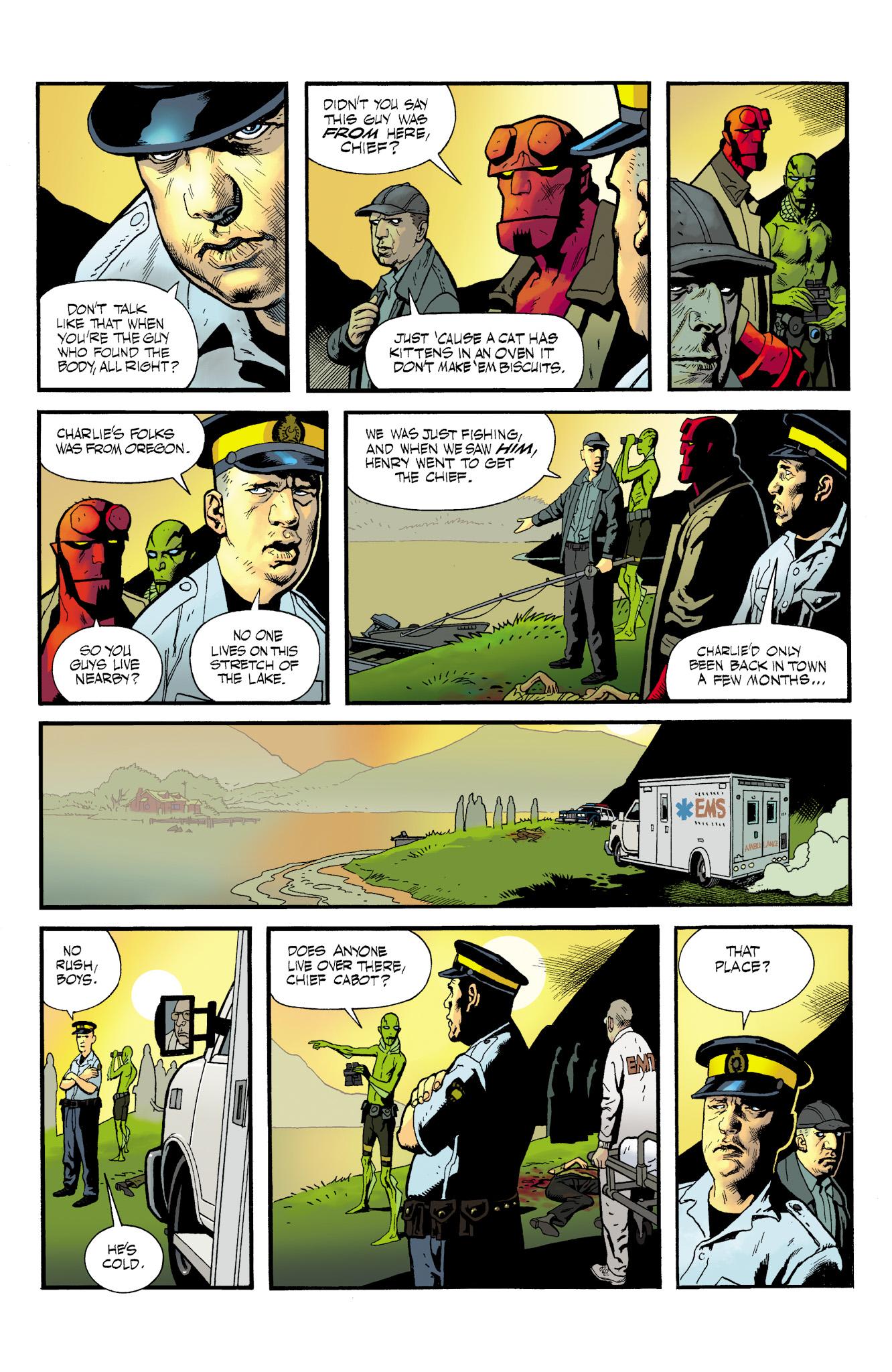 Read online Abe Sapien comic -  Issue #23 - 7
