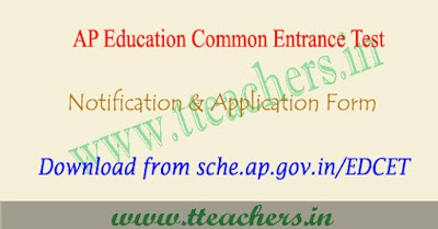 AP Edcet 2020 notification, ap ed.cet online application form