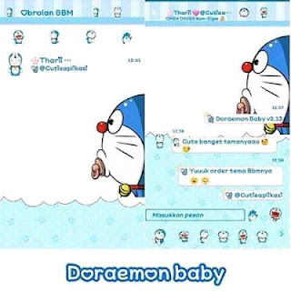 BBM DORAEMON BABY Terbaru