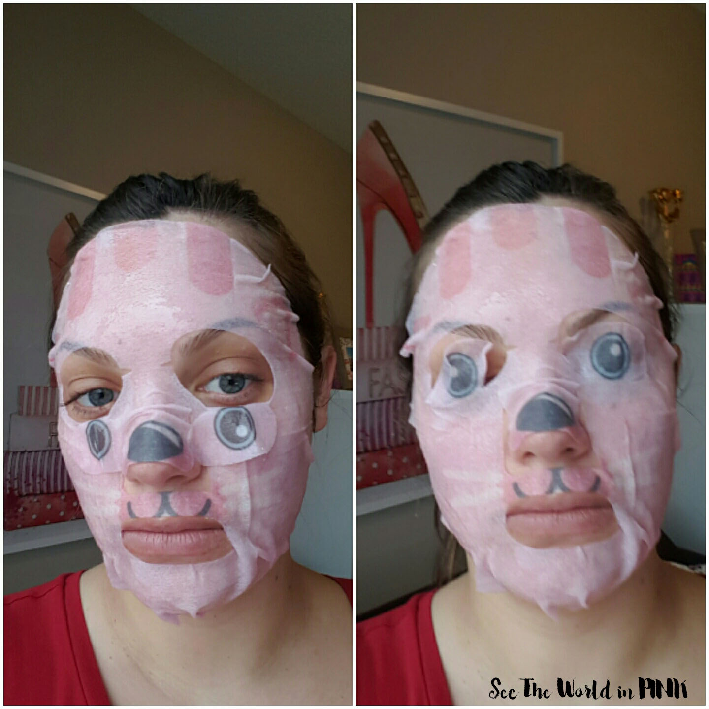 The Creme Shop Calm Down, Skin! Kitty Face Mask Review