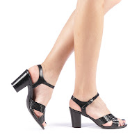 Sandale dama Ersilia negre