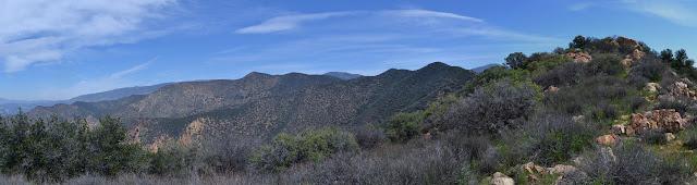 Redrock Mountain from near the benchmark