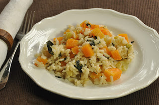 Squash and Kale Risotto