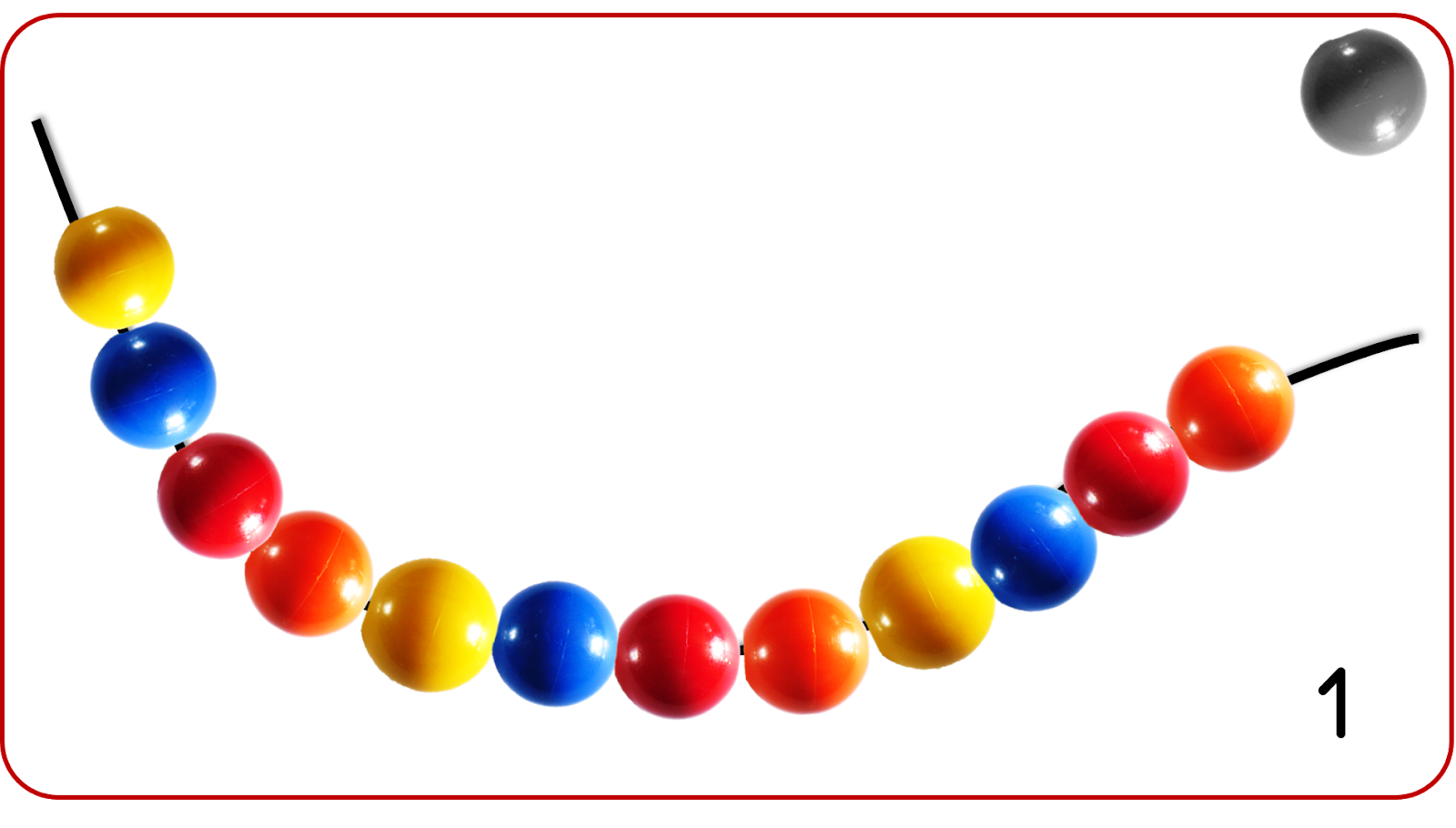 modele collier perle maternelle