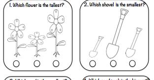 Classroom Freebies Too: Comparing Sizes Freebie