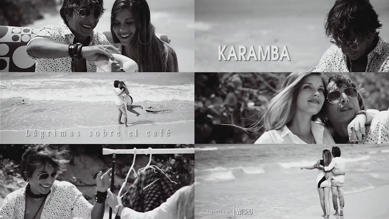 KARAMBA - ¨Lágrimas sobre el café¨ - Videoclip - Dirección: Wicho. Portal del Vídeo Clip Cubano