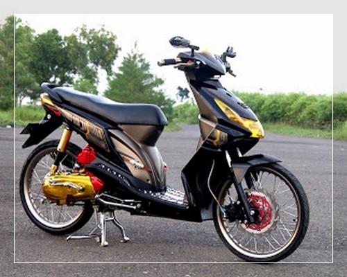 modifikasi motor honda beat 2012 terpopuler