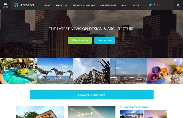 Architect - Real Estate Bootstrap Template