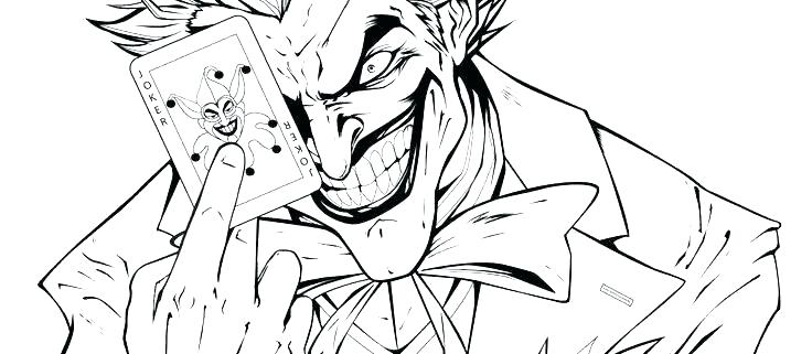 Devil Joker Coloring Page Free Printable Coloring Pages For Kids