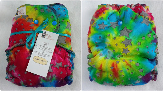 {review} Magickal Bottom's Hybrid Fitted Cloth Diaper Review