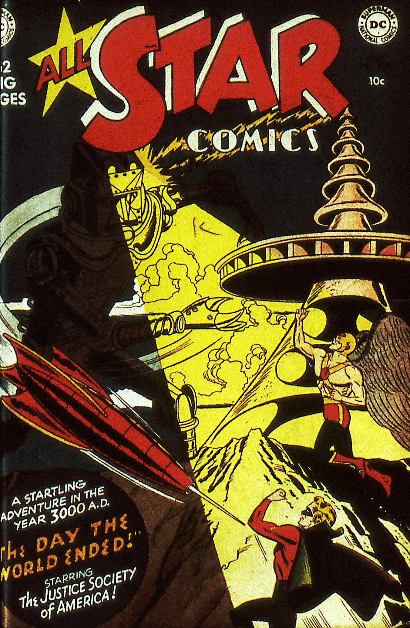 Read online All-Star Comics comic -  Issue #56 - 1
