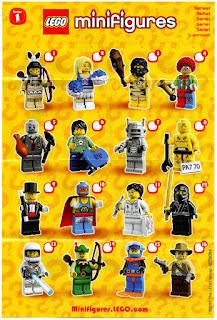 Lego series 1