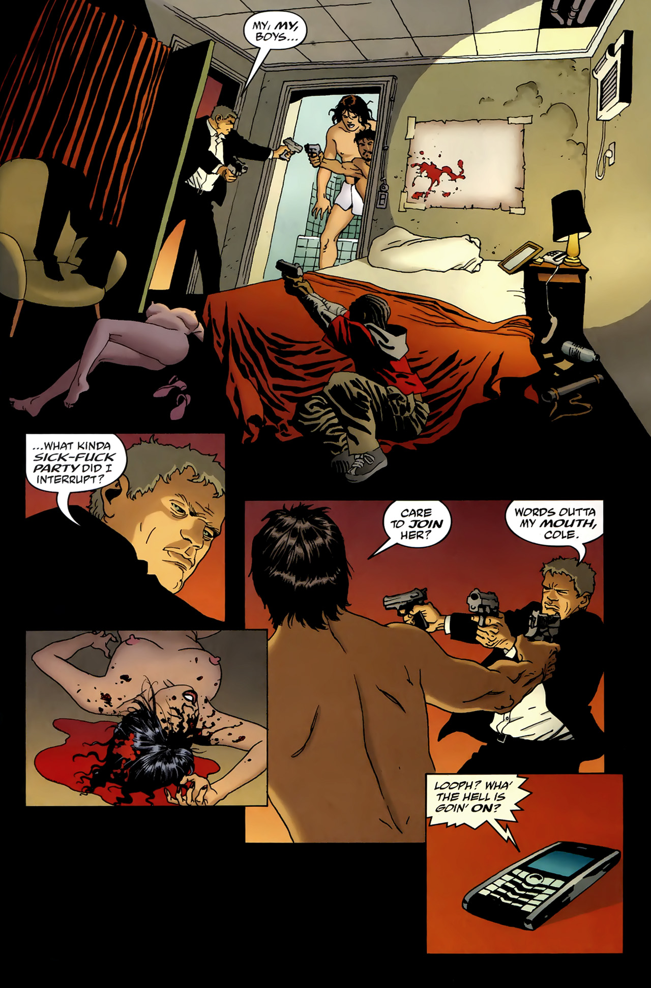 Read online 100 Bullets comic -  Issue #99 - 6