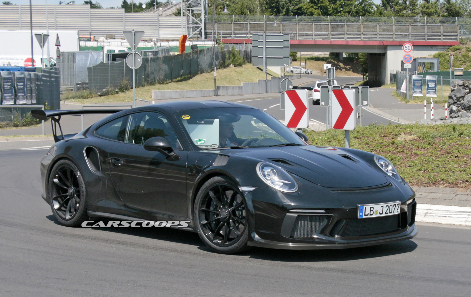 Upcoming Porsche 991 2 Gt3 Rs Coming With Gt2 Aero Bits