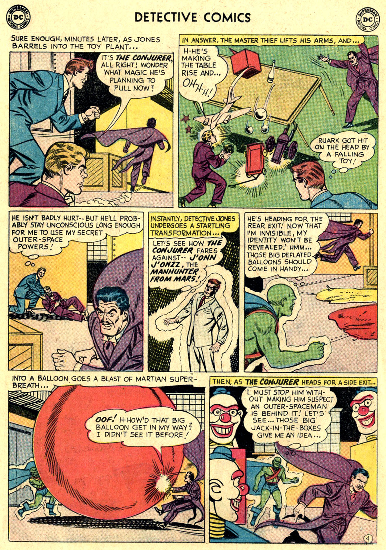 Read online Detective Comics (1937) comic -  Issue #263 - 30