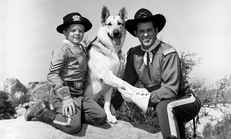 Image result for TV SHOW - THE ADVENTURES OF RIN TIN TIN