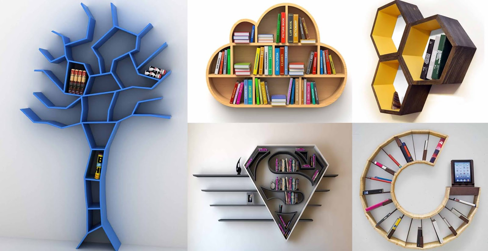 Top 25 Awesome Wall Shelves Design Ideas | Engineering ...