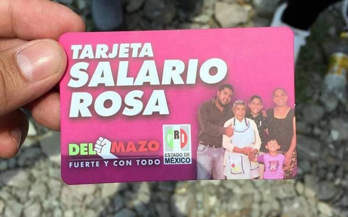 El Mexiquense Hoy Para El Salario Rosa Se Inició Registro