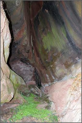 Cueva en Chequilla (vista interna)