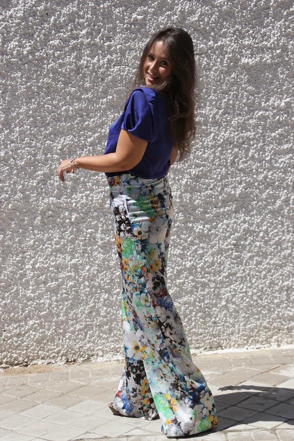DIY Costura: Pantalón palazo (patrones y moldes gratis). Blog de costura y blog diy.