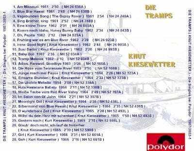 Knut Kiesewetter & Die Tramps - Die Polydor Singles