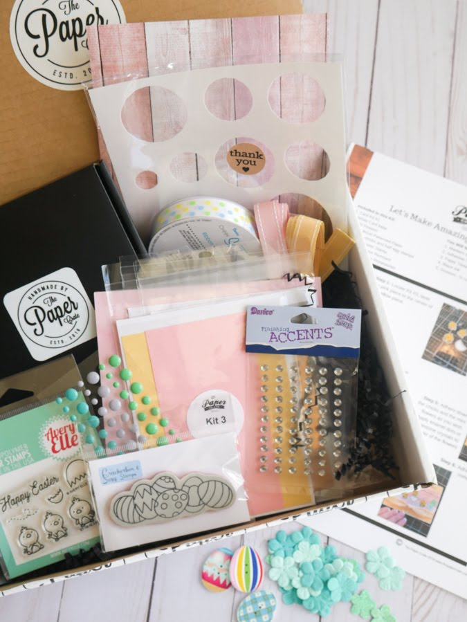 Paper Craft Subscription Review by Jamie Pate | @jamiepate