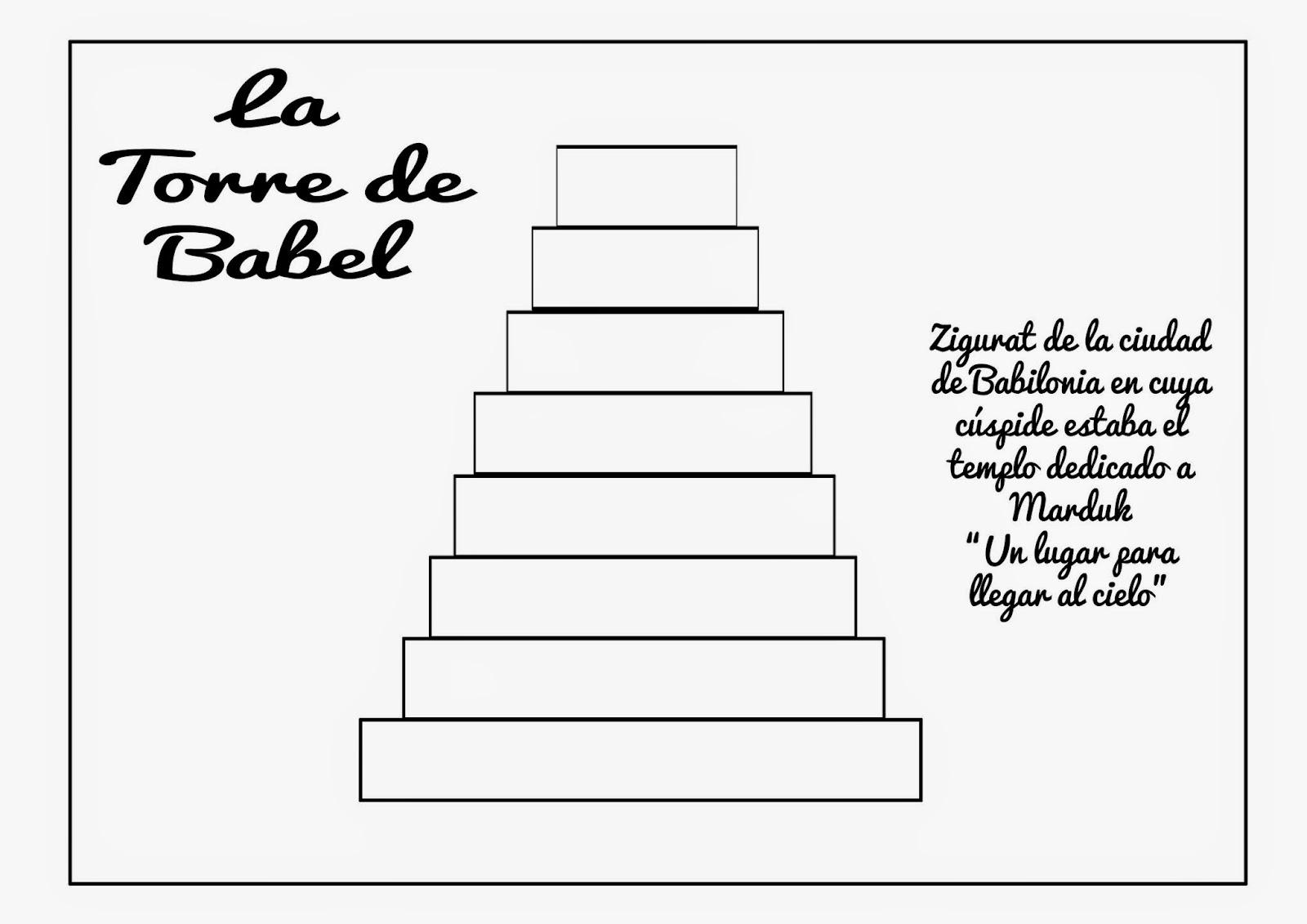 Manualidad La Torre De Babel