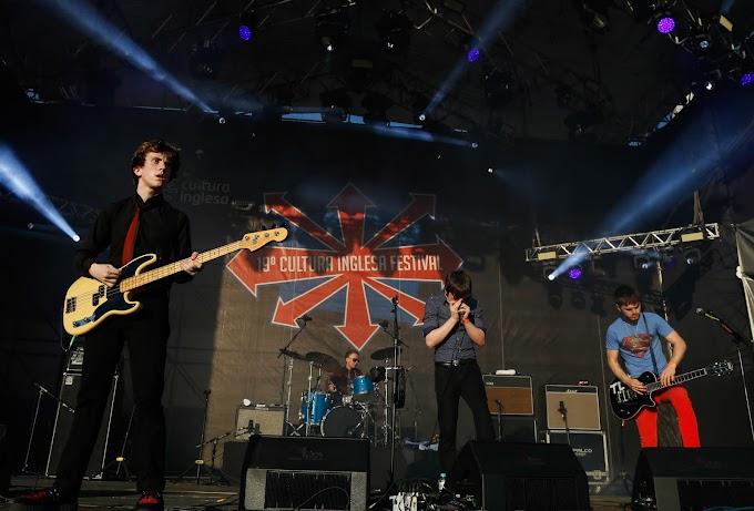Apresentados por nós em 2013, The Strypes tocou no Cultura Inglesa Festival 2015